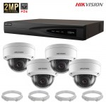 pack-dome-hikvision-4-cameras-2mp-poe